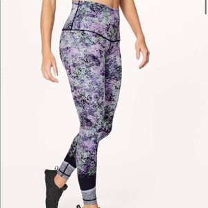 🆕 Lululemon Floral Wunder Under Pants